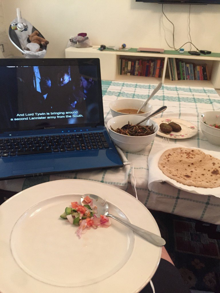 tray and Game of thrones
